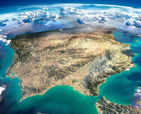 Iberia-Nasa-daylight